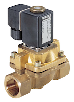 solenoid valve for industrial process control