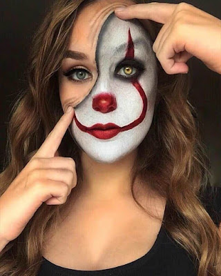 halloween clown makeup women