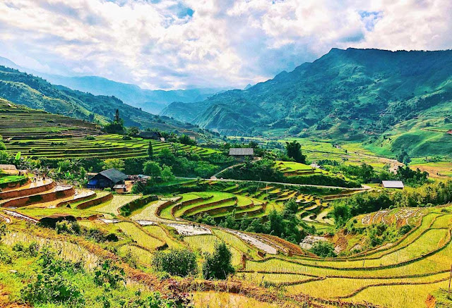 Route Map For Easy Trekking Tour In Sapa, Vietnam 1