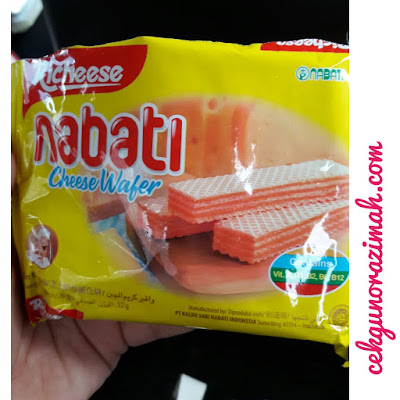richeese nabati, cheese wafer, sedapnya cheese wafer