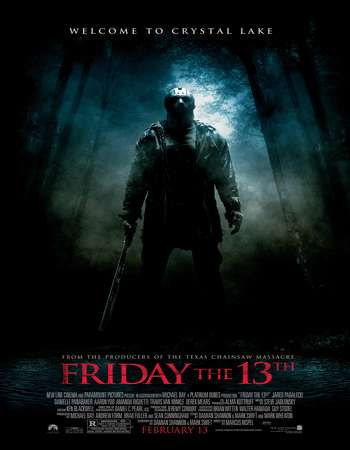 Poster Of Friday the 13th 2009 English 300MB BRRip 480p ESubs Watch Online Free Download Worldfree4u