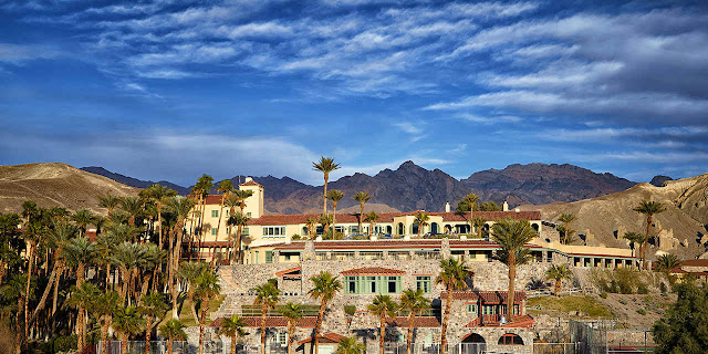 An elegant hideaway since 1927, The historic Inn at Death Valley is a AAA-rated four-diamond resort that still pampers every guest. Once the exclusive desert escape for such Hollywood elites as Marlon Brando, Clark Gable, and Carole Lombard, The Inn is bringing the elegance of Old Hollywood back after its $100 million renaissance.