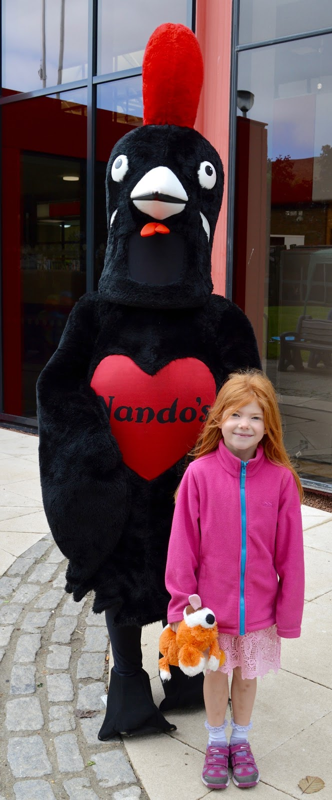 Pirates & Princesses Day at Manor Walks - Nandos chicken