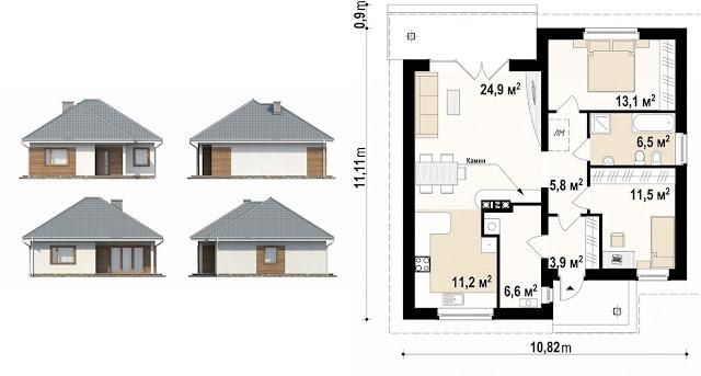 каркасные дома для постоянного проживания под ключ
