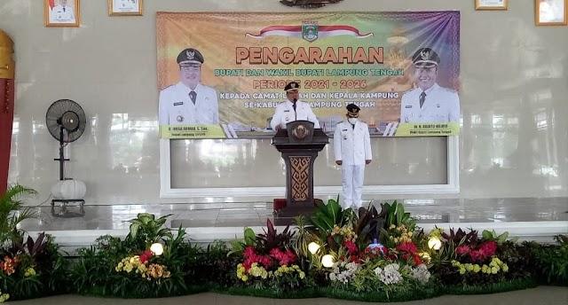 "DPRD Lampung Tengah Gelar Rapat Istimewa Paripurna Dengan Agenda ""Pidato Politik Bupati Lampung Tengah"""