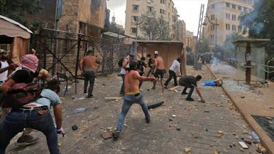 Crisis en Beirut