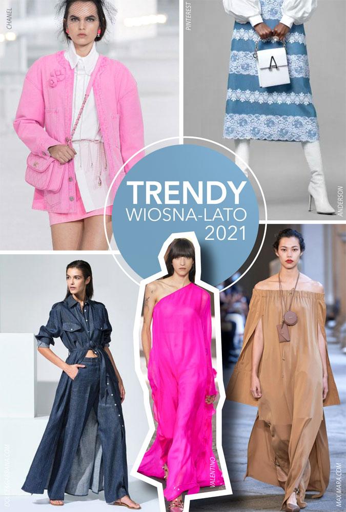 trendy w modzie wiosna lato 2021