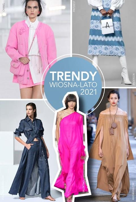 Trendy wiosna-lato 2021