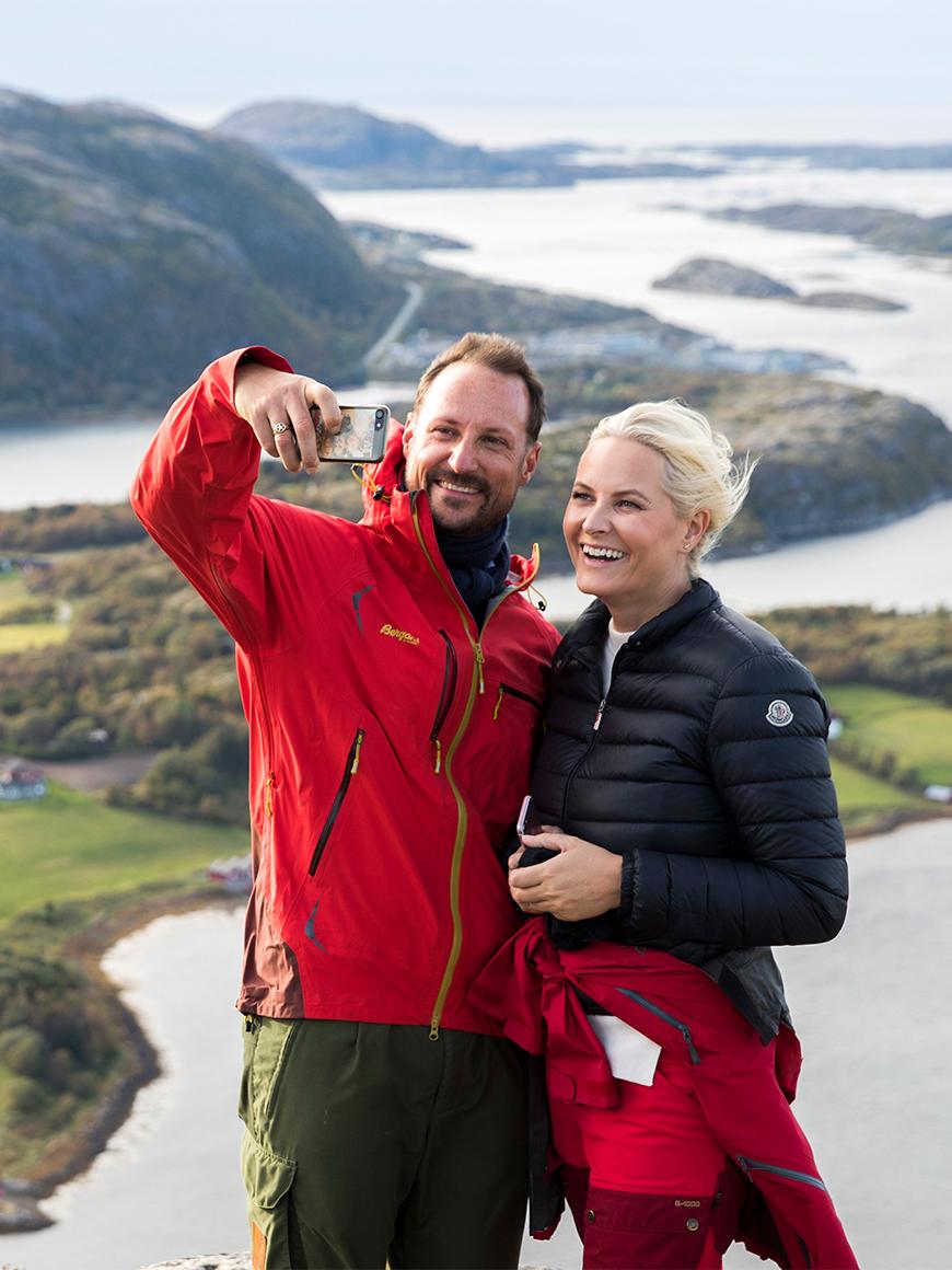 Кронпара Норвегии продолжает свое турне в Нур-Трёнделаге