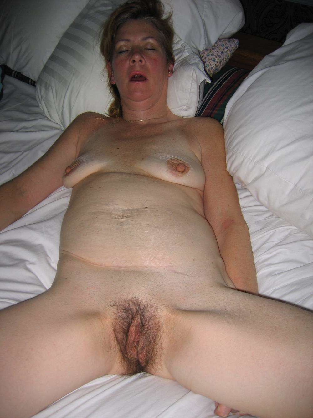 drunk and naked mom