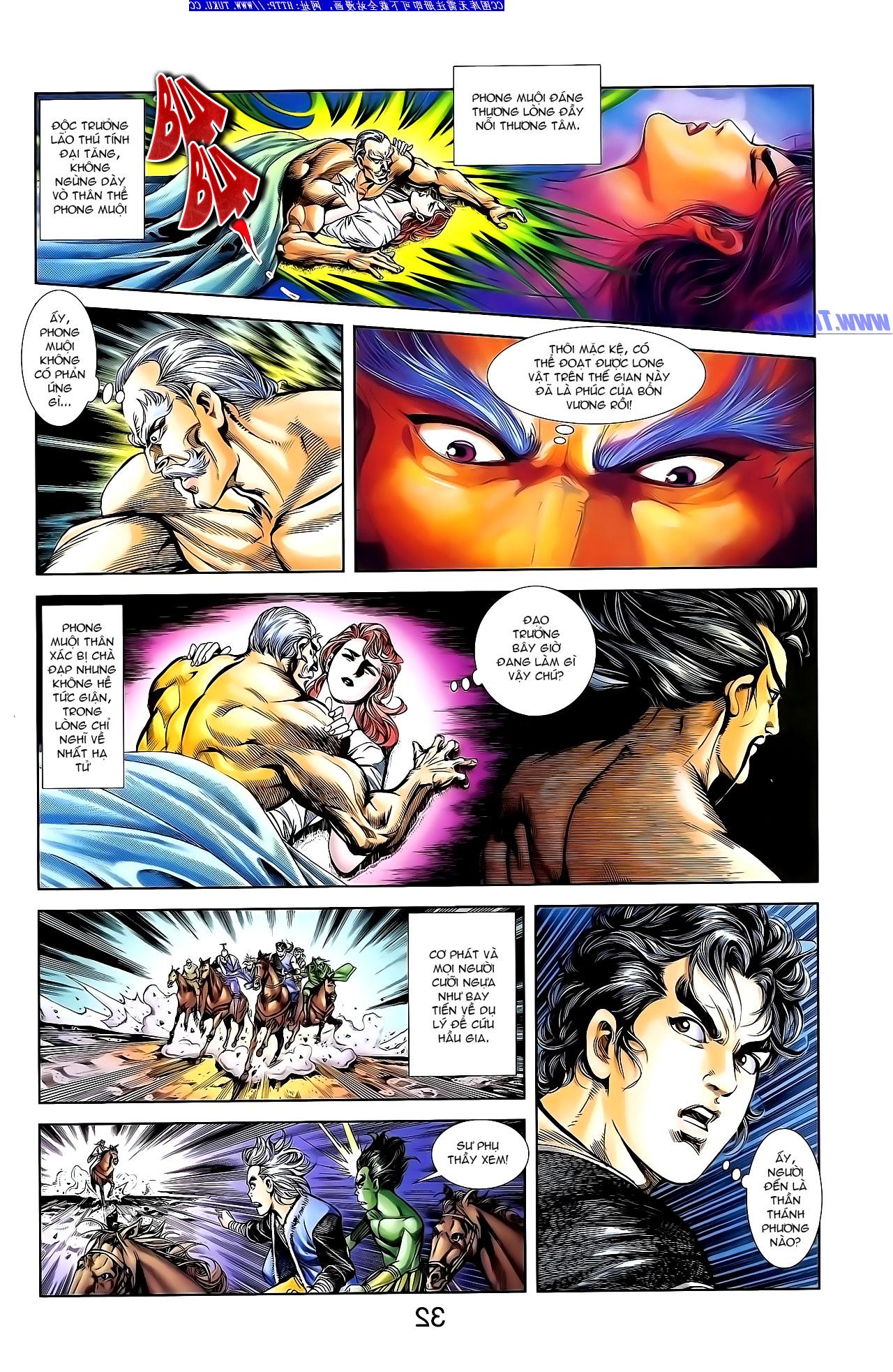 Cơ Phát Khai Chu Bản chapter 139 trang 16