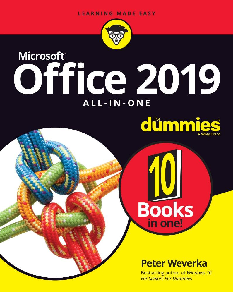Office 2019 All-in-One For Dummies – Peter Weverka