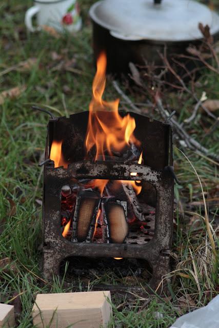 походная печка Юля