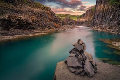 Le canyon de Stuðlagil: le nouveau joyau de l'est de l'Islande