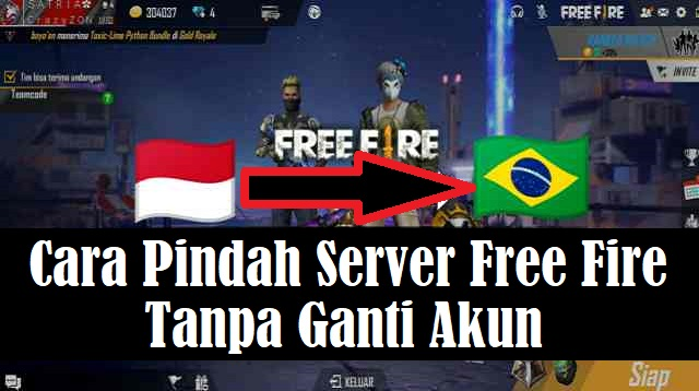 Cara Pindah Server Free Fire Tanpa Ganti Akun