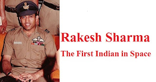 Rakesh Sharma The First Indian in Space