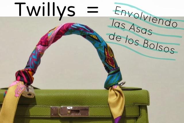 Como envolver con Twillys Asas de Bolsos