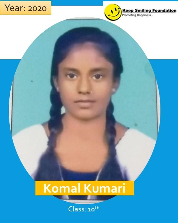 Scholar Story 05: Komal Kumari