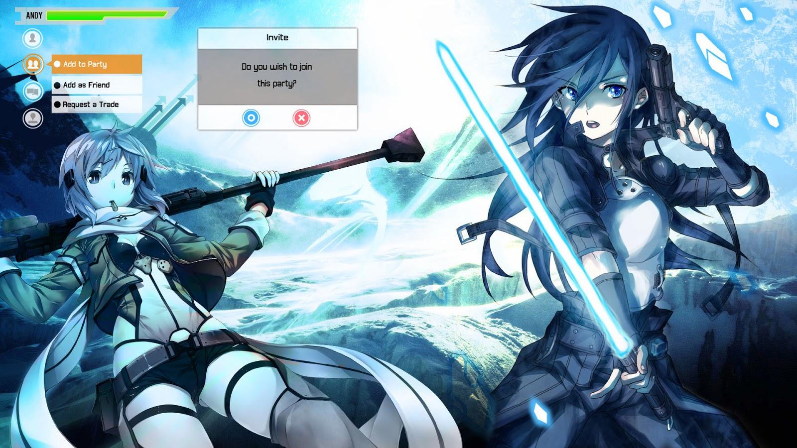 Animix Blog Craze: Sinon and Kirito of Gun Gale Online ...