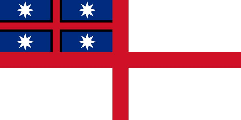 Flag of the United Tribes of New Zealand