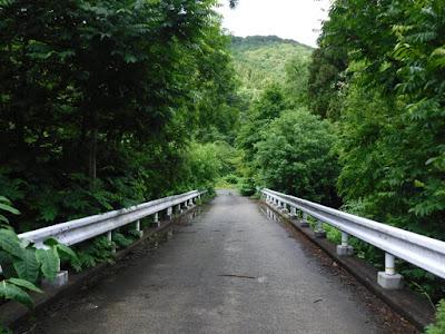 野内川にかかっているコンクリート橋