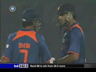Yuvraj Singh 78 - MS Dhoni 71* - India vs Australia 3rd ODI 2009 Highlights