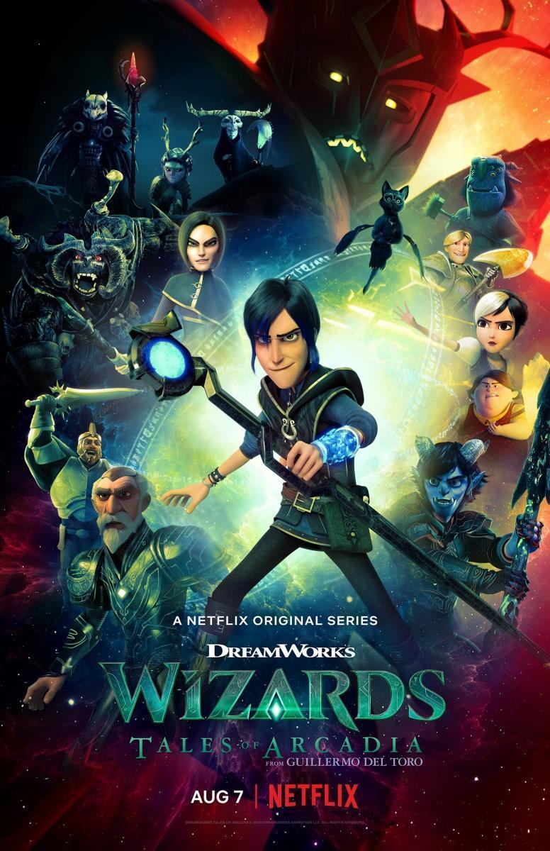 Magos Relatos de Arcadia Temporada 1 Completa 720p Latino
