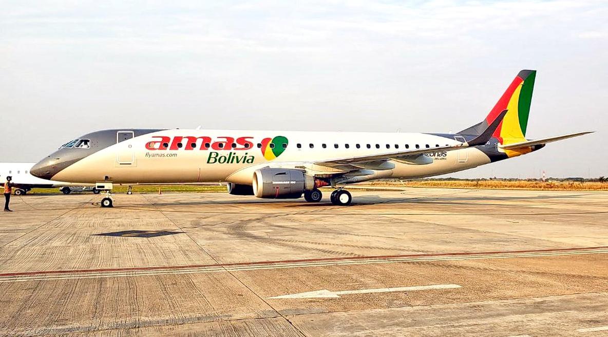 Amaszonas Embraer ERJ-190 November 2019 Delivery