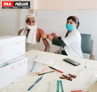 कोविड टीकाकरण उत्सव के रूप में मनाई अम्बेडकर जयंती
