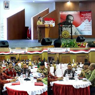 Wabup Lambar Hadiri Pembekalan Kepemimpinan Pemerintahan Dalam Negeri di Jakarta Selatan