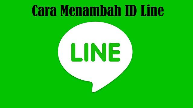 Cara Menambah ID Line