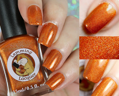 Lemming Lacquer Danger Zone! | Damn It, I had Something For This; An Archer Inspired Collection