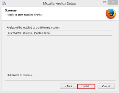Cara Simple Install Mozilla Firefox di Laptop atau Komputer 2