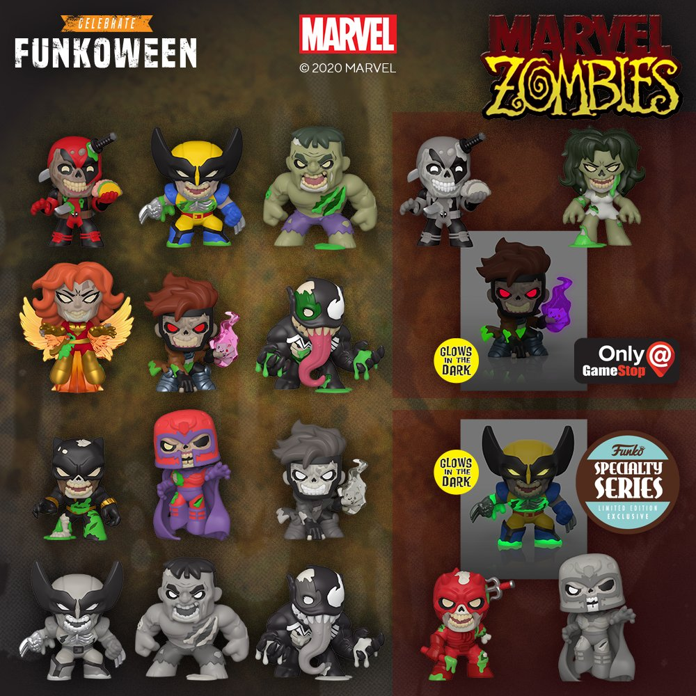 The Blot Says Marvel Zombies Mystery Minis Blind Box Series By Funko