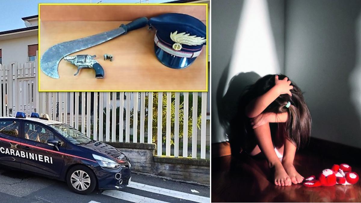 Uomo condannato abusi sessuali Germania Carabinieri Acireale