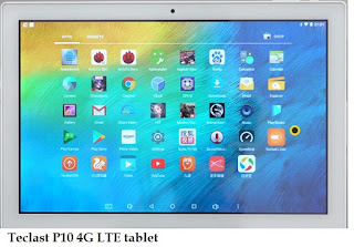 Teclast P10 tablet specs