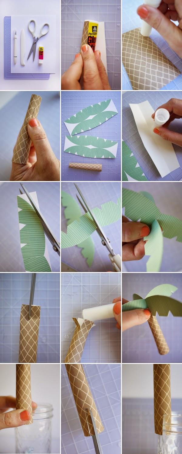 Palmera de papel