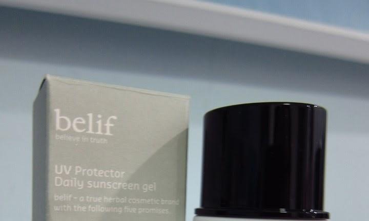 Belif UV Protector Daily Sunscreen Gel