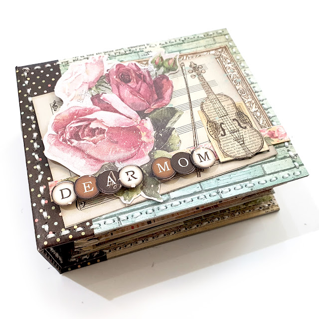 How to Make a Family Heirlooms Mother's Day Mini Album