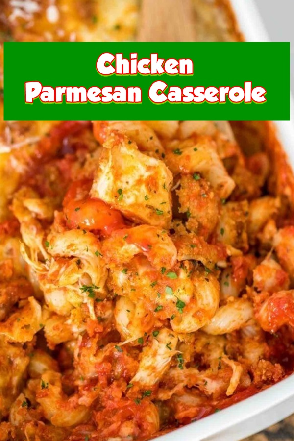 #Chicken #Parmesan #Casserole