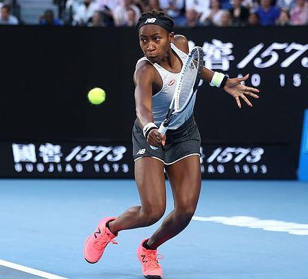 Cocu Gauff 15, defeats defending Champion Naomi Osaka 22, at the Australian Open