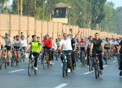 Sisi - Egyptian Cycling History - Then and Now - Subversive Photo Series