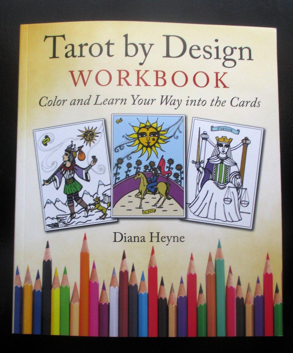 REVIEW Tarot By Design Workbook Diana Heyne