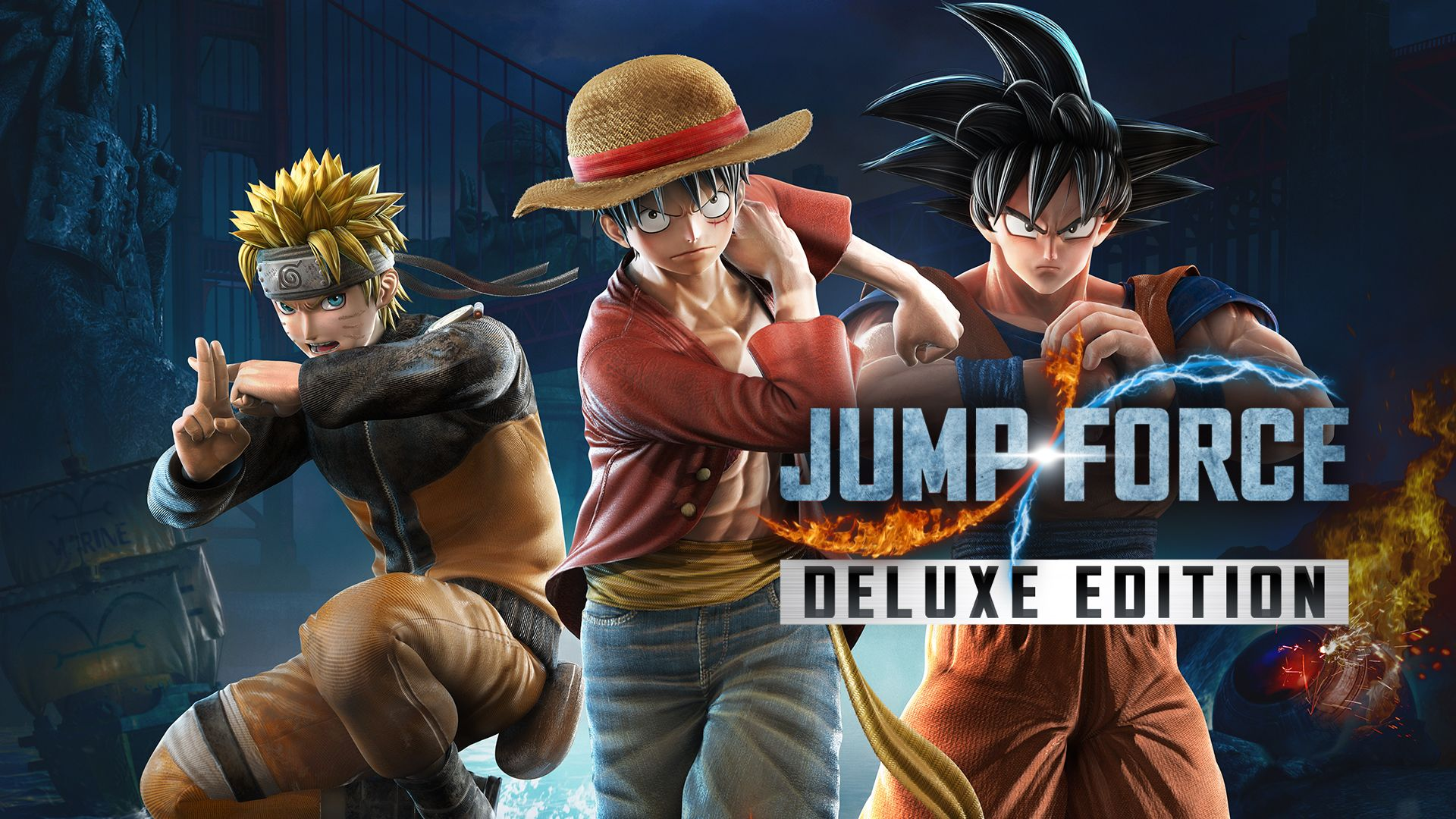 JUMP FORCE Deluxe Edition v1.02 NSP XCI For Nintendo Switch