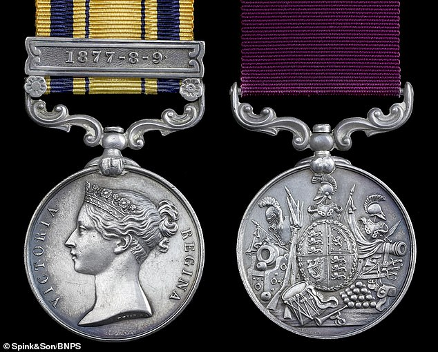 Gunner Arthur Howard's South Africa 1877-79 medal