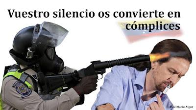Podemos Venezuela Pablo Iglesias Nicolás Maduro