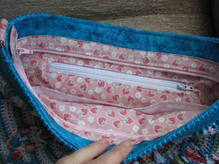 Tina's Allsorts - PeacockTailBagCAL, The Lining