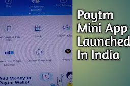 Paytm Mini App Store Launched In India ✓
