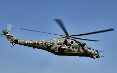 Russian Helicopters Mi-35P Digital Avionics