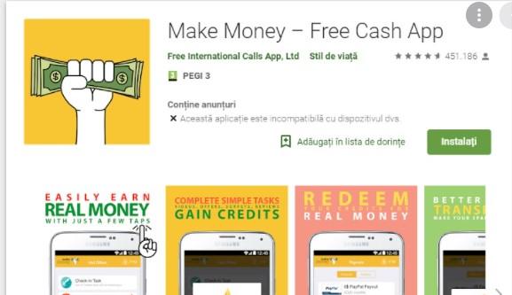 cara mendapatkan uang dari aplikasi make money